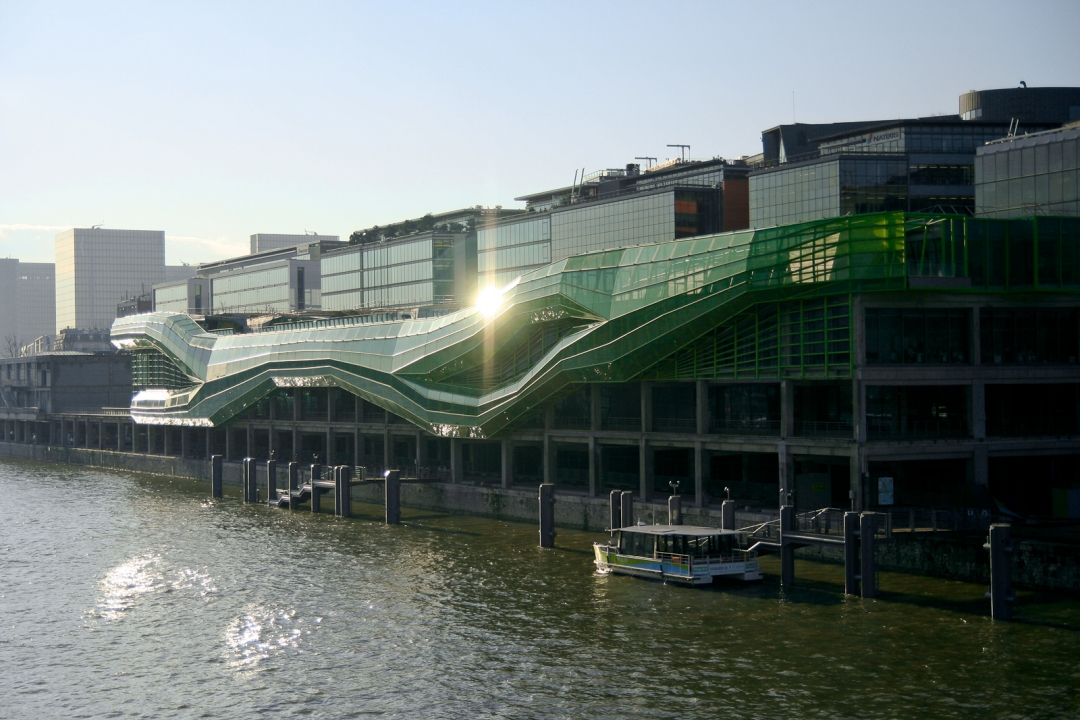 Les docks cit de la mode et du design paris signage for Maison de la mode et du design paris